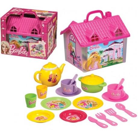 Casa con accesorios de cocina barbie juguetes pedrosa for Cocinas con accesorios