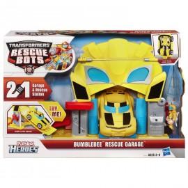 Garaje Rescue Bots Transformers