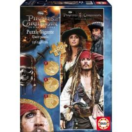 Puzzle 400 Gigante Piratas del Caribe