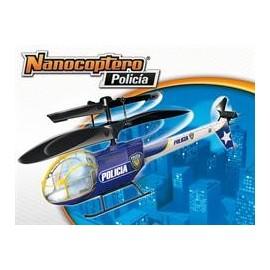 Helicoptero Nanocoptero Policia-Rescate