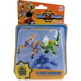 Figura Invizimals Pack 3 unidades