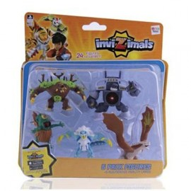Figura Invizimals Pack 5 unidades