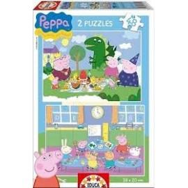 Puzzle 48x2 Peppa Pig