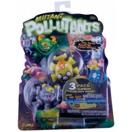 Mutant Pollutants Pack 3 Figuras