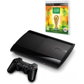 Playstation 3 Slim 500GB + Fifa Mundial 2014
