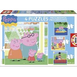 Puzzle Progresivo 6-9-12-16 Dora