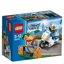 Lego Moto Policia y Ladron