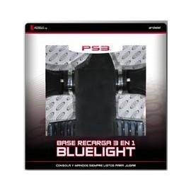 Base Recarga 3 en 1 Bluelight