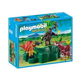 Gorilas y Okapis Playmobil