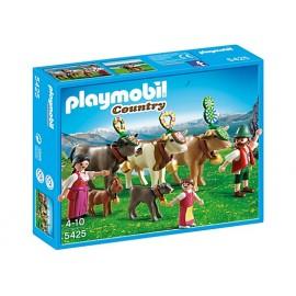 Pastores Alpinos con Animales Playmobil