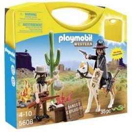 Maletin Bandidos Playmobil