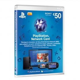 Tarjeta Playstation Store 50€