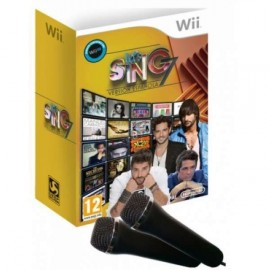 Wii Lets Sing 7 + 2 Microfonos