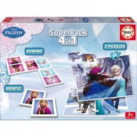 Puzzle 4 en 1 Frozen