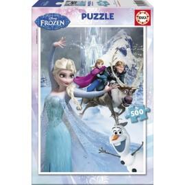 Puzzle 500 Frozen