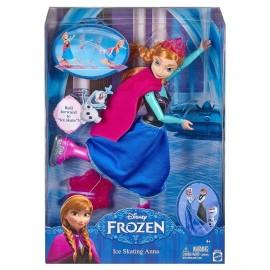 Frozen Anna Patinadora