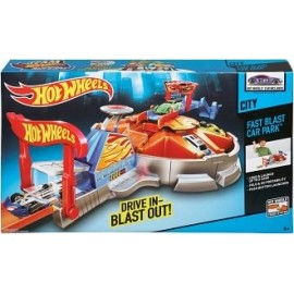Hot Wheels Far Blast Car Park