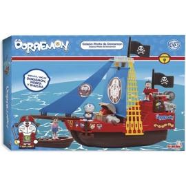 Galeon Barco Pirata de Doraemon