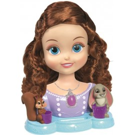 Busto Princesa Sofia Peinable Deluxe