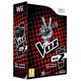 Wii La Voz Vol.2 + Microfonos