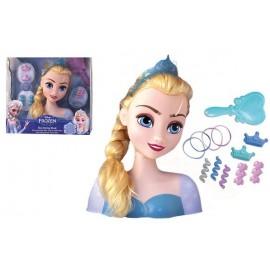 Busto Peluqueria Elsa Frozen