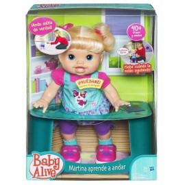 Baby Alive Martina Aprende Andar