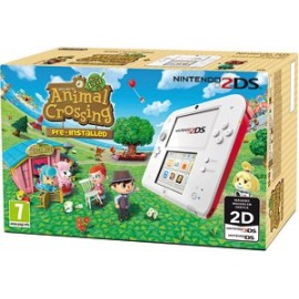 Nintendo 2ds Blanca + Animal Crossing