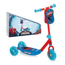Patinete 3 Ruedas Spiderman