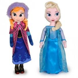 Peluche Princesa Frozen 40cm. Std.