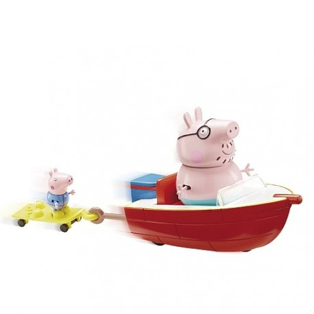 Lancha Motora Peppa Pig