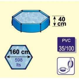 Piscina 160 Hexagonal Y-28