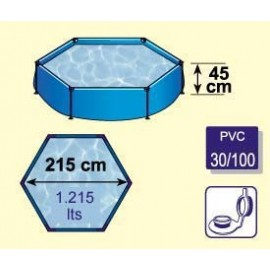 Piscina 215 Hexagonal WET230