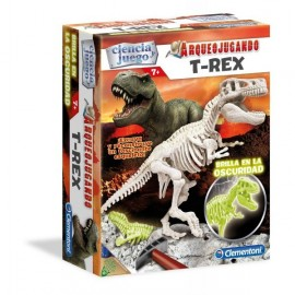Arqueojugando T-Rex