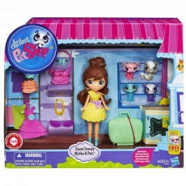 Littlest Pet Shop Muñeca y Mascotas