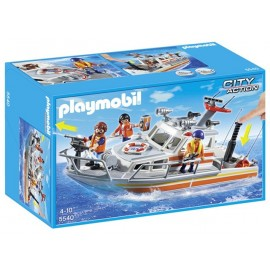 Barco Rescate Playmobil