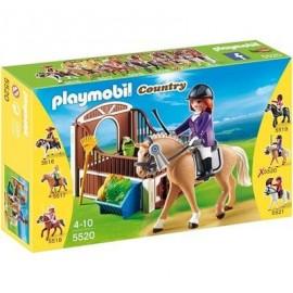 Caballo Exhibicion Establo Playmobil