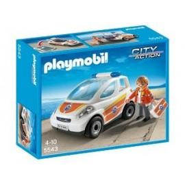 Coche Emergencia Playmobil