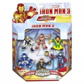 Figuras Iron Man 3 - Caja 6 unidades