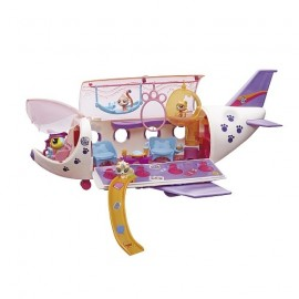 Littlest Pet Shop el Avion de las Pets