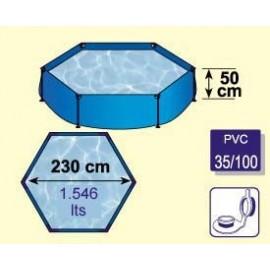 Piscina 230 Hexagonal Y-290