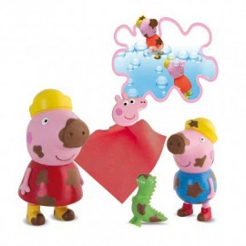 Peppa Pig y George Manchitas