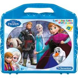 Rompecabezas Frozen 12 Cubos