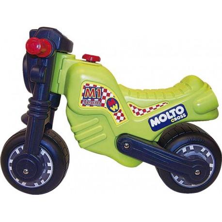 338649db76ea6 Moto Molto Cross Verde - Juguetes Pedrosa