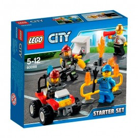 Lego Set Introduccion Bomberos