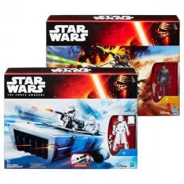 Vehiculo Star Wars con Figura Surtidos