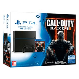 Playstation 4 1000Gb. Negra + Call Of Duty