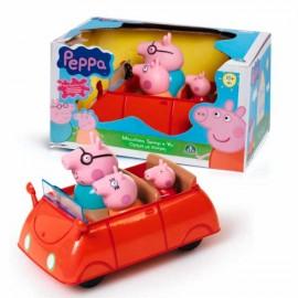 Coche Familia Peppa Pig