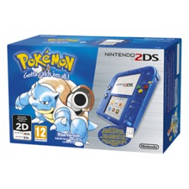 Nintendo 2ds Pokemon Azul