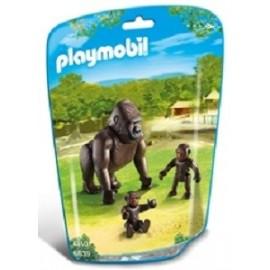 Gorila con Bebes 6639