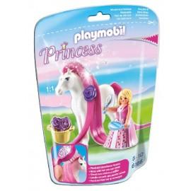 Princesa Rosa con Caballo 6166